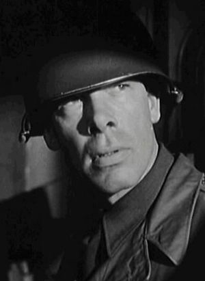 Attack (1956 film) - Lee Marvin as the manipulative colonel