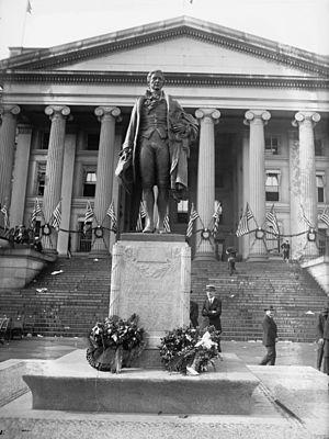 Alexander Hamilton (Fraser) -  Alexander Hamilton at the dedication