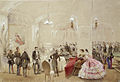 Alexander II with the courtiers in the Arsenal Hall of the Gatchina Palace.jpg