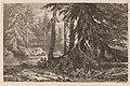 Alexandre Calame, Essais de gravure à l'eau forte par Alexandre Calame, III, pl. 16, 1845, NGA 152406.jpg