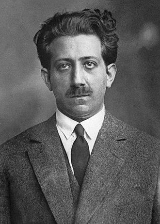 Alexandre Stavisky - Alexandre Stavisky in 1926