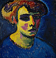 Alexej von Jawlensky - Frauenkopf (Head of a Woman) - Google Art Project.jpg