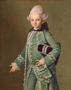Carl-Ludwig Christinek - Image: Alexey Bobrinsky by C.L.Christinec (c.1770, Hermitage)