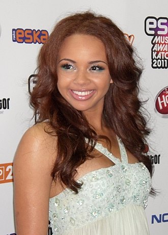 Alexis Jordan - Jordan at the ESKA Music Awards in May 2011