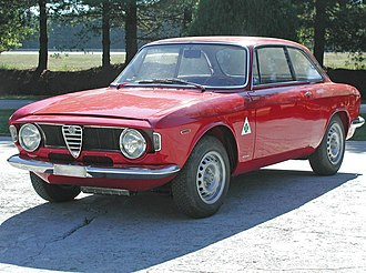 Alfa Romeo GTA - Alfa Romeo Giulia GTA (road version)
