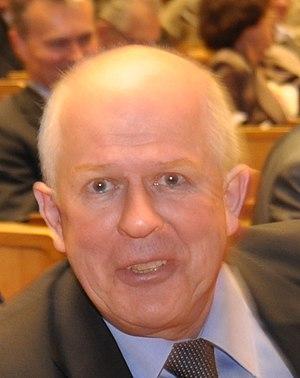 Lithuanian parliamentary election, 1996 - Image: Algirdas Saudargas