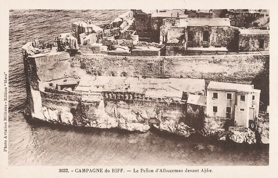 Alhucemas penon 1925