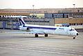 Alitalia MD-82; I-DAVG@FRA;27.12.1995 (5217504352).jpg