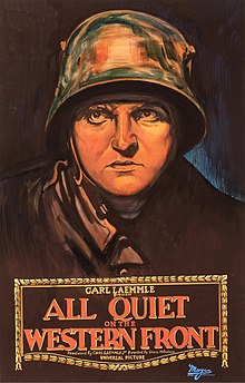 Description de l'image All Quiet on the Western Front (1930 film) poster.jpg.