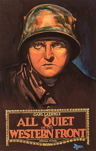 Film genre - War film or anti-war movie: Lewis Milestone's All Quiet on the Western Front, 1930