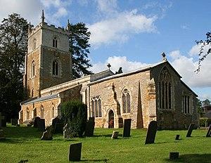 Knipton - Image: All Saints Church, Knipton geograph.org.uk 999237