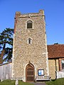All Saints Church Tower, Little Bealings - geograph.org.uk - 1025998.jpg