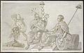 Allegorie op het 'Tractaat van Vriendschap en Commercie tusschen hun Hoog Mogenden de Staaten Generaal der Vereenigde Nederlanden en de Vereenigde Staaten van America', 1782 Rijksmuseum SK-A-4876.jpeg