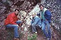 Alvarez-trio in Gubbio- Walter Alvarez with Mark Anders and David Bice.jpg