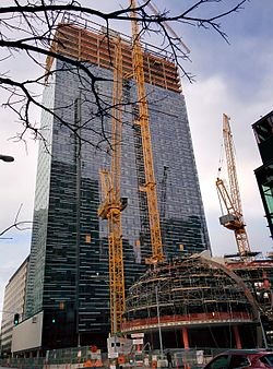 Amazon Tower II under construction, February 2016.jpg