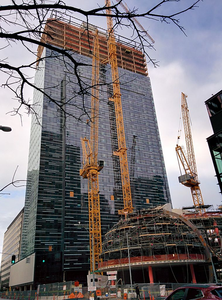Building Under Construction : File amazon tower ii under construction february g
