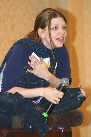 Amber Benson - Benson at a 2005 Buffy the Vampire Slayer convention