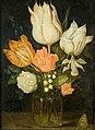 Ambrosius Bosschaert de Oude - Bloemen in een vierhoekig glazen vaasje - BR0001 (R442) - Rijksmuseum Twenthe.jpg
