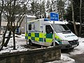 Ambulance receives transfusion - geograph.org.uk - 1730319.jpg