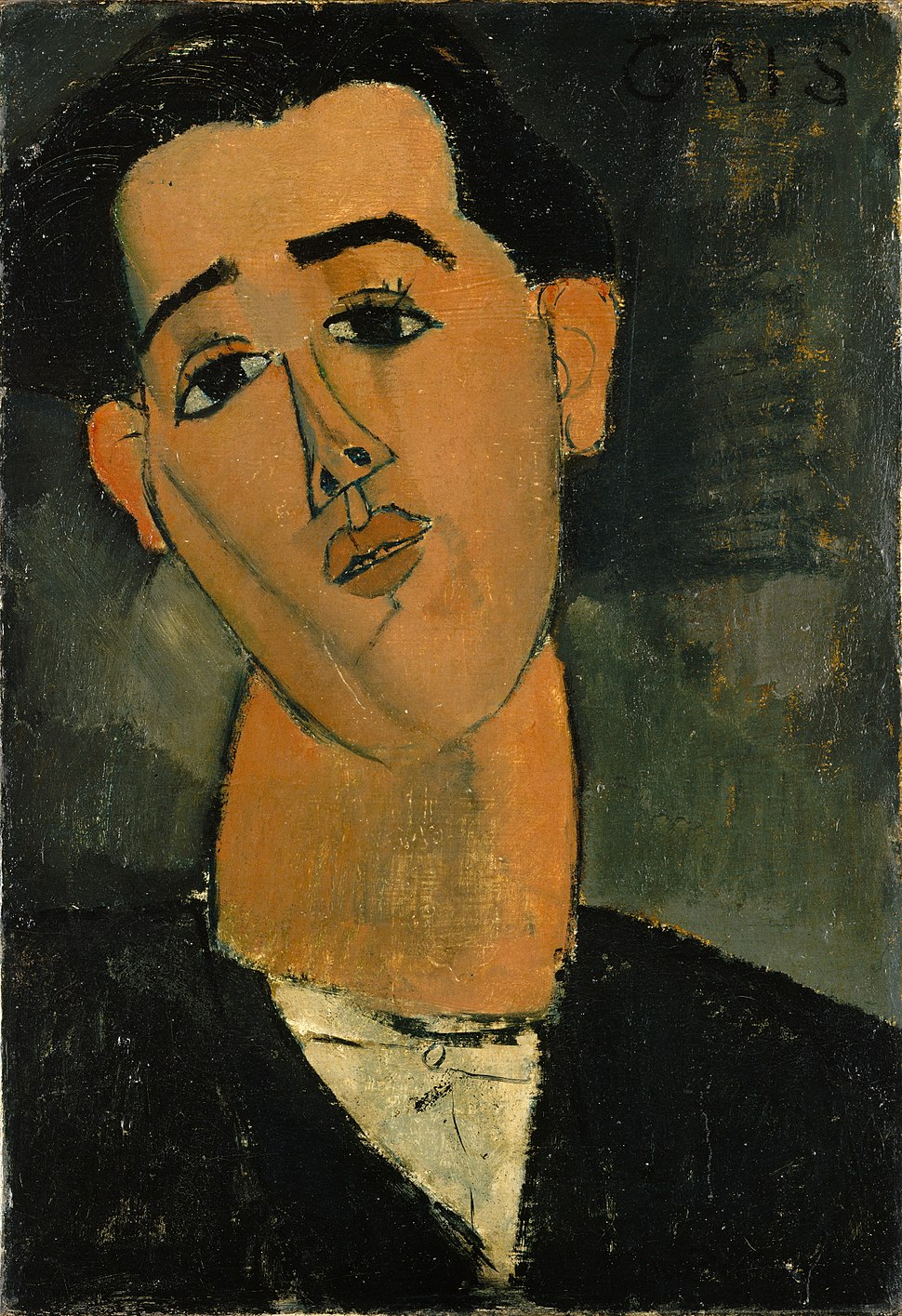 Amedeo Modigliani - Portrait of Juan Gris