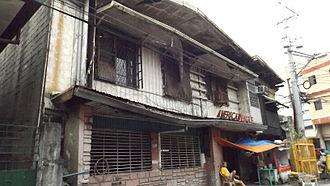 Santa Ana, Manila - The American Eagle Club building
