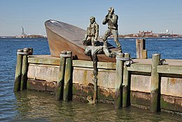 American Merchant Mariners' Memorial -- Battery Park New York (NY) April 2016 (27509492665).jpg