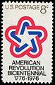 American Revolution Bicentennial 8c 1971 issue U.S. stamp.jpg