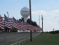 American flags at park in Chandler.jpg
