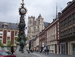 Amiens Horloge and Cathedrale