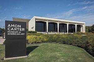 Amon Carter Museum of American Art - Image: Amon Carter Museum of American Art, facade