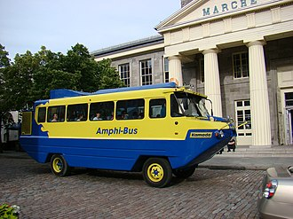 Duck tour - Montreal Amphi-bus