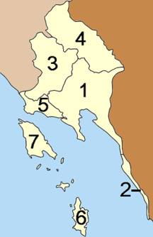 Provincia di Trat-Suddivisione amministrativa-Amphoe Trat