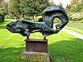 Amstelveen - Steigerend paard (1969) van Arthur Spronken - 01.jpg