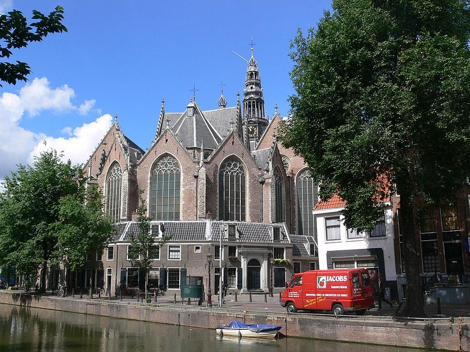 Amsterdam Oude Kerk 2008
