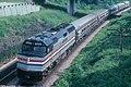 Amtrak Maple Leaf under Plains Road, June 1982.jpg