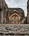 An archway design, Golconda fort, Hyderabad,India.jpg