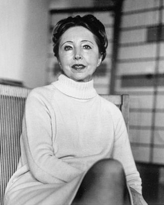 Anaïs Nin - Portrait of Anaïs Nin in the 1970s by Elsa Dorfman