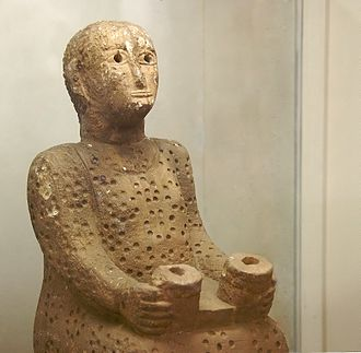 Ancient history - Ancient Figurine, National Museum, Addis Ababa, Ethiopia