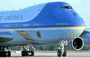 Andrews Air Force Base - Boeing VC-25, widely known as Air Force One when the President is on board, of the 89th Airlift Wing