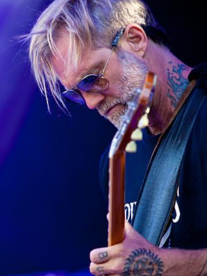 Anders Osborne - Anders Osborne at the 2016 Telluride Blues and Brews Festival