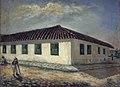 André Figurey - Antiga Santa Casa, Rua da Gloria, 1858, Acervo do Museu Paulista da USP.jpg