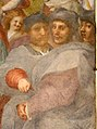 Andrea del sarto, viaggio dei magi, 1511, 08 ritratti di jacopo sansovino, francesco aiolli e autoritratto - dett.jpg