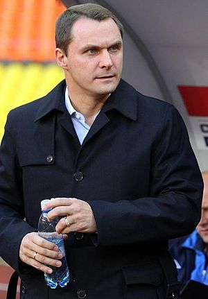 Andrey Kobelev - Kobelev coaching Krylia Sovetov in 2011