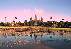 Angkor Wat from north pond.JPG