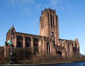 Giles Gilbert Scott - Liverpool Cathedral in 2012