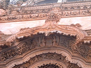 Mateus Fernandes - Portal of the Unfinished Chapels in the Monastery of Batalha (close up)