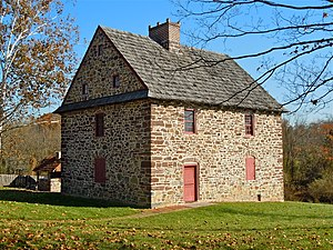 National Register of Historic Places listings in Montgomery County, Pennsylvania - Image: Antes House Montco PA