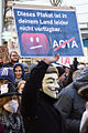 80px-Anti-ACTA-Demonstration_in_Mainz_2012-02-11_(01) Маска Гая Фокса - это... Что такое Маска Гая Фокса?