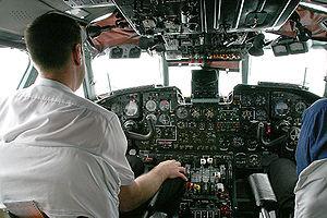 Antonov An-24 - Cockpit
