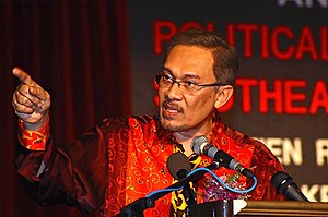 Anwar Ibrahim - Anwar Ibrahim speaking
